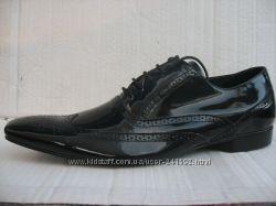 Туфли COZZANI натур. лаковая кожа р. 41 мод. 2313 оригинал