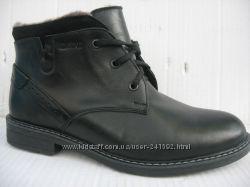 Зимние ботинки натур. кожа натур. мех  KRASTFOR