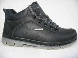 Зимние кроссовки типа каламбия натур. кожа натур. мех р. 40-45  модель Б25МТ