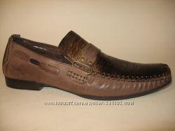 Мужски туфли натур. кожа замш нубук Распродажа