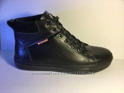 Зимние ботинки  типа Tommy Hilfiger натур. кожа натур. мех р. 40-45 Мод. С4