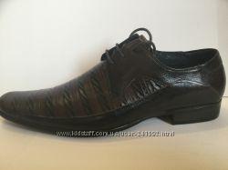 Туфли BROOMAN натур. кожа р. 39 - 45 мод. а 69 оригинал