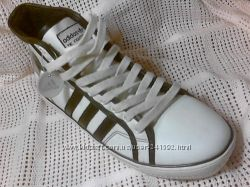 Спортивные ботинки стилизованные под кеды демисезонные типа адидас р. 41-46