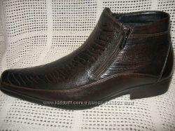Зимние ботинки модельные распродажа натур. кожа натур. мех