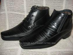 Зимние ботинки подросток натур. кожа натур. набив. мех TRIUMF