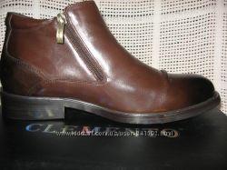 Зимние ботинки натур. кожа натур. мех  Climento оригинал
