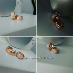 золотые серьги и золотое кольцо 585.