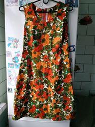 Платье 46 М сарафан женский летний нарядное