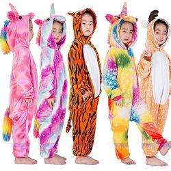 Кигуруми модная пижама для детей и взрослых