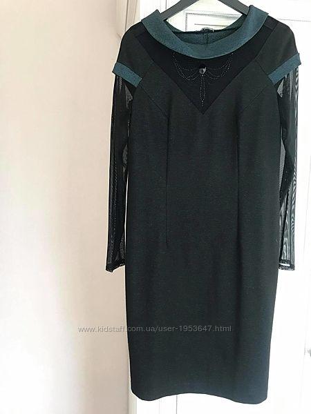 Вечернее, нарядное платье р. 50