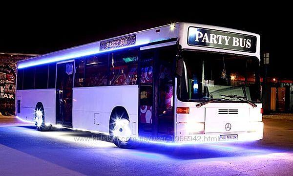 065 Лимузин автобус Party Bus Vegas пати бас прокат