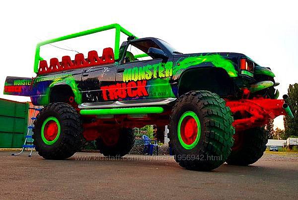 069 Party Bus Monster truck пати бас прокат аренда