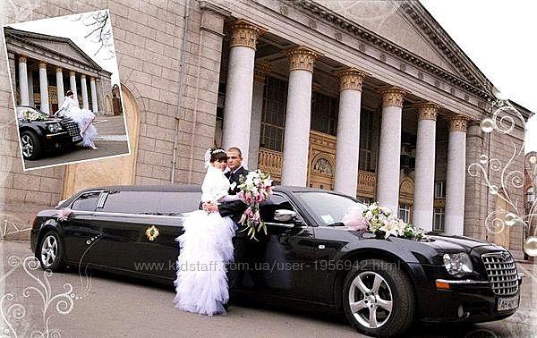 016 Лимузин Chrysler 300C черный аренда