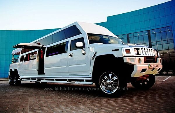 019 Лимузин Mega Hummer H2 белый аренда