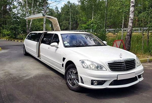 029 Лимузин Mercedes W221 S63 белый прокат