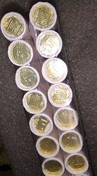 Монета 10 копійок/копеек 2019 Цена указана за 40 роликов рол, ролл.