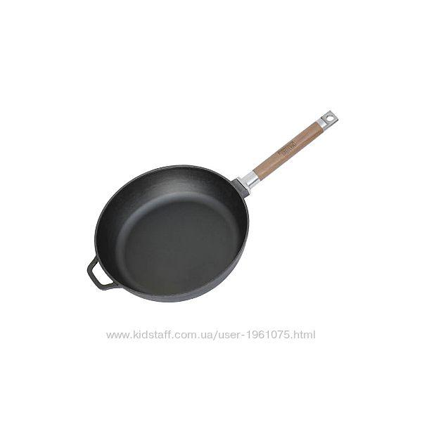 Сковорода чугунная Биол Классик высокая со съемной ручкой 26 см 0326