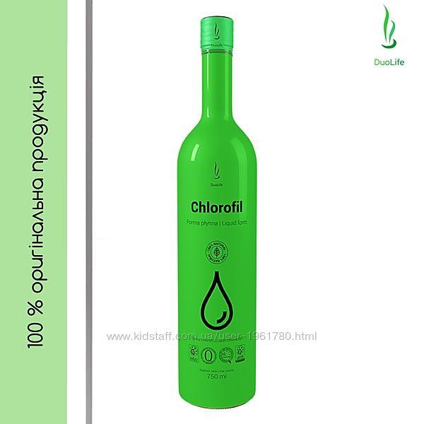 Хлорофилл жидкий натуральный с экстрактом мяты Дуолайф 750 мл