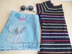 Шорты модные с вышивкой