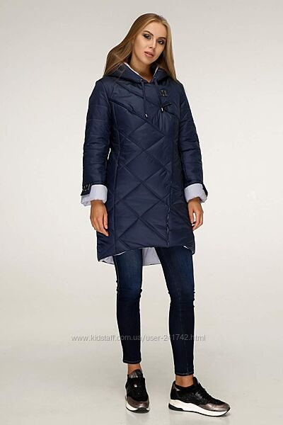 Куртка пуховик демисезонное, теплая зима