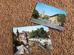 Старинные открытки Прага , Ереван 1978 год СССР