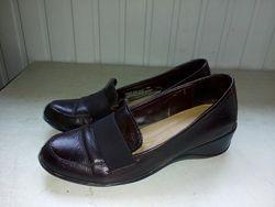 Кожаные туфли лоферы, Naturalizer р 38-39