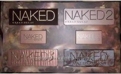 Тени Urban Decay Naked 1, 2, 3, Smoky оригинал, опт, розница