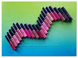 Помада - блеск для губ кремовая Nyx Soft Matte, все 40 оттенков, опт