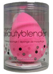 Брендовые спонжи Beautyblender, REAL TECHNIQUES, кисти для макияжа