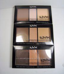 Nyx палетка для контурирования cream highlight andcountour palette CHCP