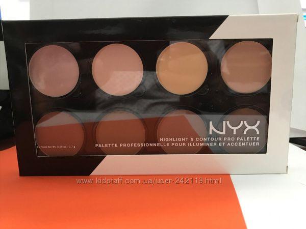 Палитра для контуринга лица NYX Professional Makeup Highlight & Contour Pro