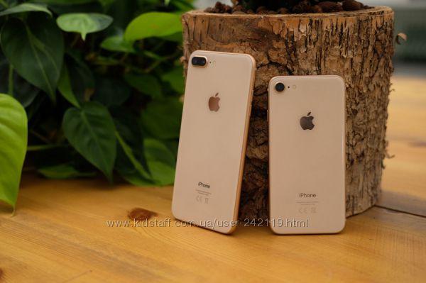 Apple iphone 8, 8plus , X, 64, 256gb gold, silver, Space Gray новый, ориг