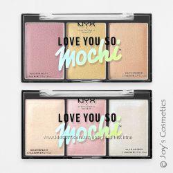 Палетка хайлайтеров NYX Love You So Mochi Highlighting Palette