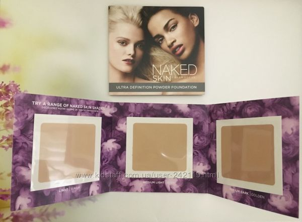 Naked skin ultra definition powder foundation travel Urban Decay  пробник