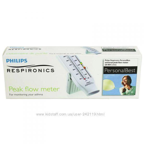 Пикфлоуметр PHILIPS RESPIRONICS Personal Best, универсальный 60-800 лмин,