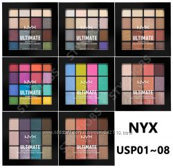 Nyx палетка теней для век NYX Ultimate Shadow Palette на выбор 9 вариантов