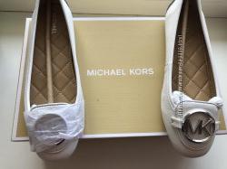 Новые оригинал  мокасины MICHAEL MICHAEL KORS Lillie Leather Moccasin