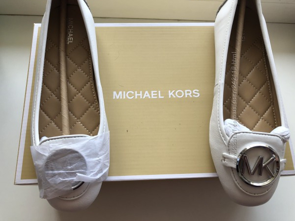 Новые оригинал  мокасины MICHAEL MICHAEL KORS Lillie Leather Moccasin