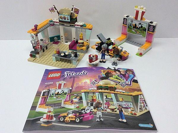 Конструктор LEGO Friends Передвижной ресторан 41349, оригинал, новый