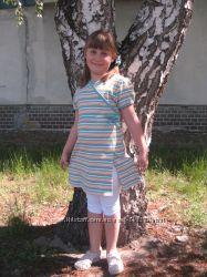 Платье KIDOKI  Германия на рост 122-134, хлопок, в идеале