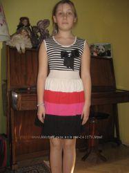 Платье на рот от 125-135 трикотаж и хлопок сотояние отличное