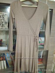 Платье H&M Швеция рост 158 на 12-13 лет трикотаж хлопок