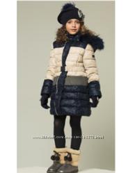 Зимнее пальто пуховик Италия Noble People на рост 150 -160см до -30 мороза