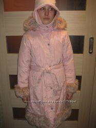 Зимнее пальто Zet Польша рост 140  до -30 мороза