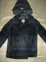 Шерстяное пальто LandsEnd, английское качество. С шляпой