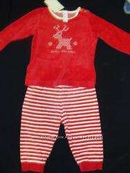 Велюровый костюм Кунда, размер 80, новый