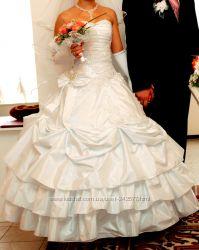 Щаслива весільна сукня, яка пренесе щастя, не вінчана