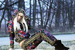 Стильные костюмы Матрёшка , русский стиль