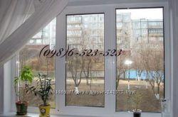 Готовые металопластиковые окна REHAU