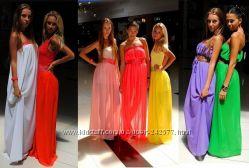 Шикарные шифоновые платья, большой выбор
